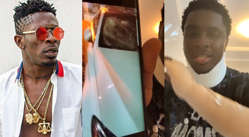 Shatta Wale hired goons to beat me for exposing him - Kweku Smoke  (Watch)