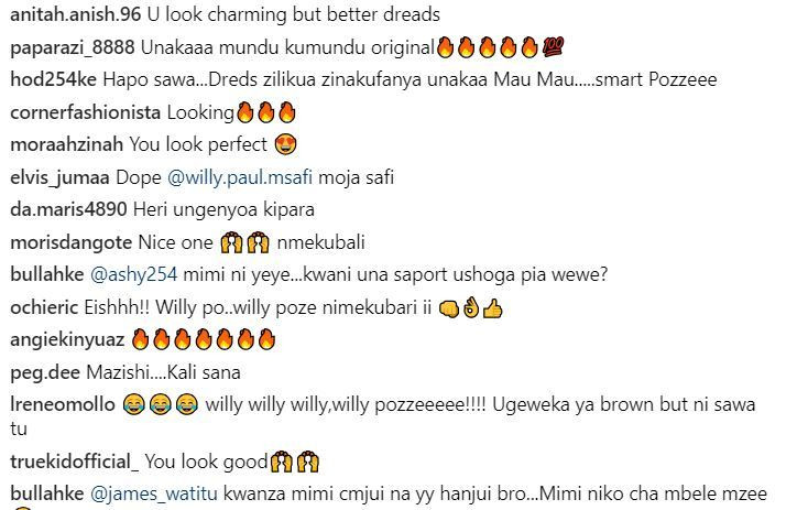 Willy Paul trolled after stepping out with new hairstyle
