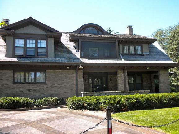 Jedna od kuća Vorena Bafeta u gradu Omaha, američka država Nebraska