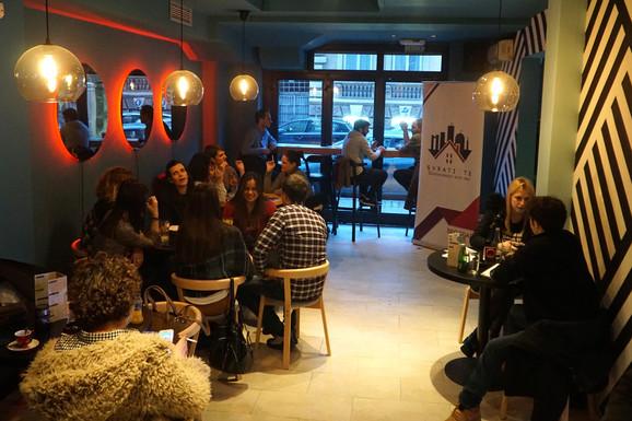 Otvaranje kafića pokrenuo je Centar za integraciju mladih