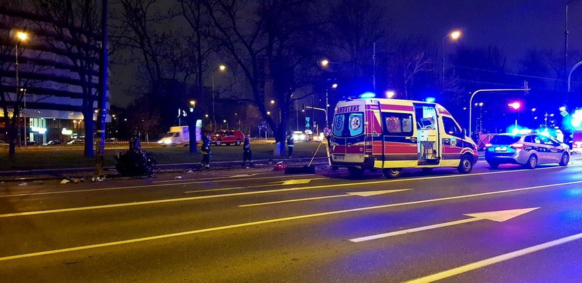 Makabryczny wypadek w Warszawie