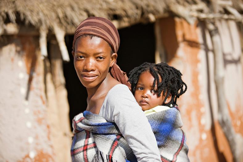 An African woman.