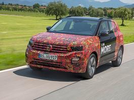 Volkswagen T-Cross - potencjalny bestseller
