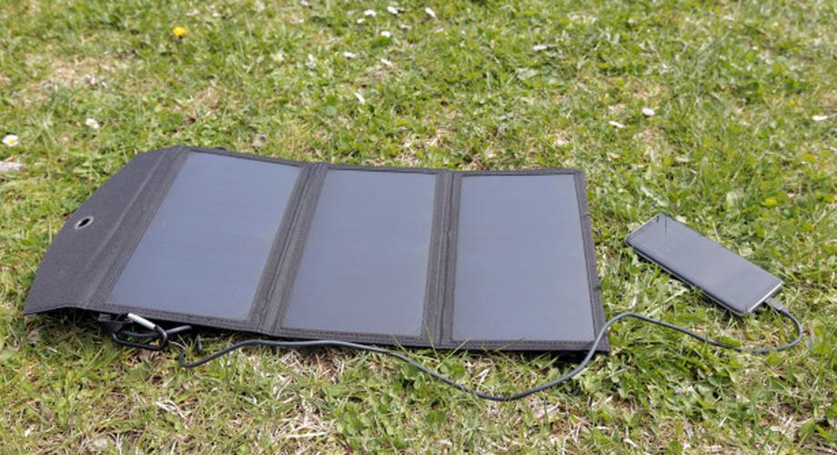 Mabor Solar-Ladegerät mit 18W im Test