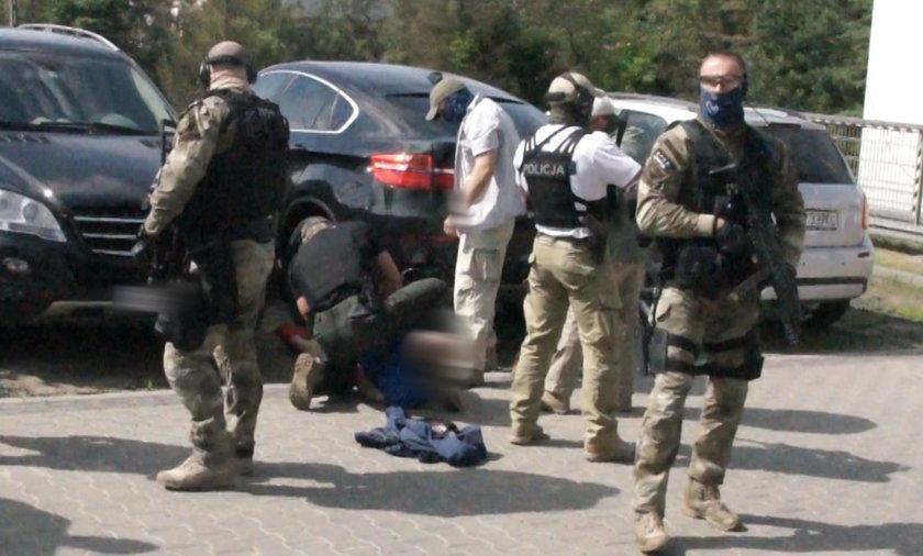 Policja złapała pseudokibica