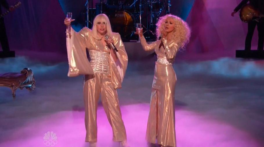Lejdi Gaga i Kristina Agilera