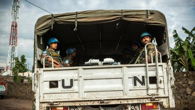 The UN force of 19,815 uniformed personnel in DR Congo will be reduced to 18,316, according to a draft council resolution seen by AFP