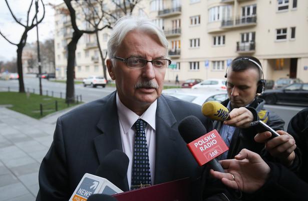 Gdyby miały one dojść do skutku, to - zdaniem polskiego ministra- Rosja musiałaby wcześniej spełnić określone kryteria
