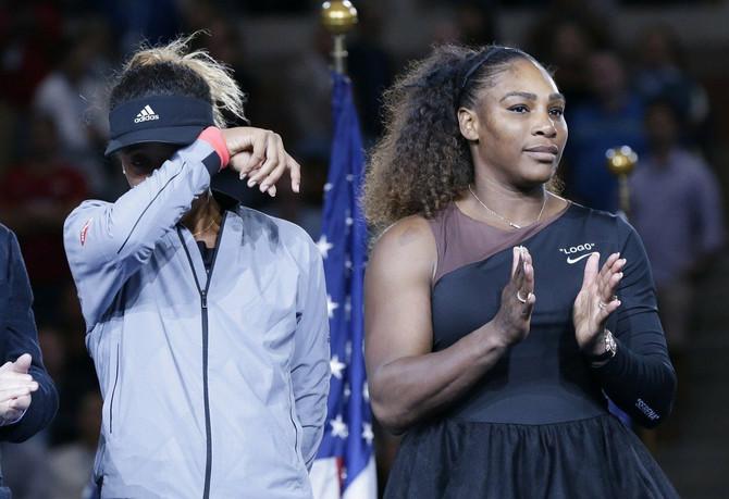 I Naomi i Serena su čitavo finale doživele vrlo emocionalno