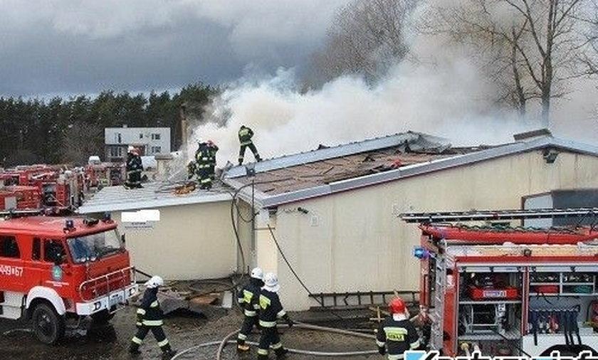 Pożar w Kiełpinie