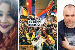 ORGANIZATORKA BI JAJIMA NA RTS Kojo: Reci čija je ideja sa razbijanjem protesta, izvini se i napusti organizaciju!