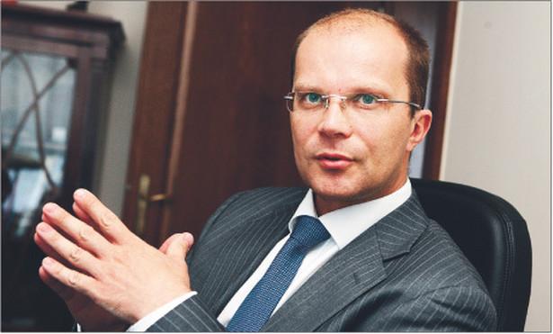Piotr Kluz, podsekretarz stanu w Ministerstwie Sprawiedliwości Fot. Wojciech Górski