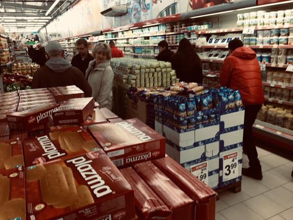 Prodavnica u južnoj Mitrovici