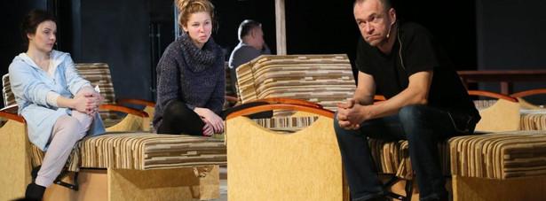"""""""Lód"""" Teatr Narodowy, Bożena Stachura , Milena Suszyńska , Mariusz Bonaszewski"""