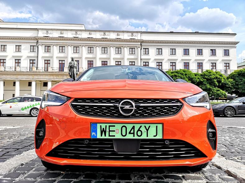 Opel Corsa-e - samochód elektryczny