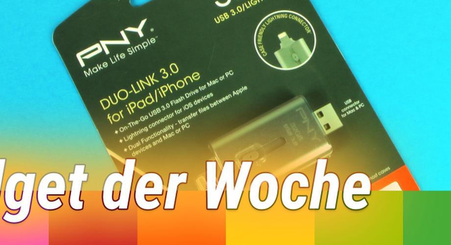 Gadget der Woche: Duo-Link - Flashdrive für PC & iOS-Geräte