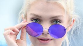 Margaret w niebieskiej stylizacji