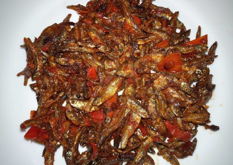 Fried omena (cookpad)