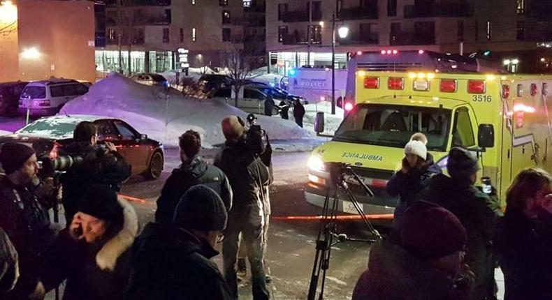 Gunmen attack Quebec mosque