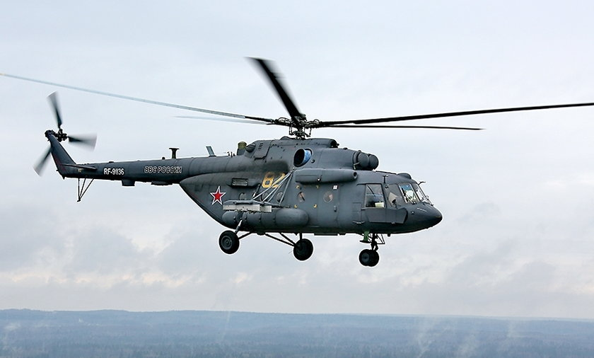 Rosyjski helikopter naruszył granice Gruzji