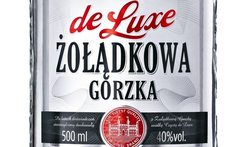 wódka gorzka żołądkowa de lux