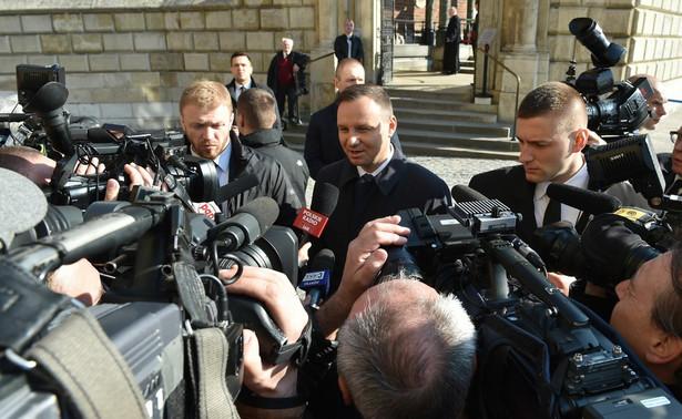 Prezydent Duda w lutym wziął udział w 53. Konferencji Bezpieczeństwa w Monachium