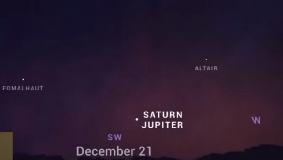 Gwiazda Betlejemska pojawi się naniebie. Bardzo rzadkie zjawisko