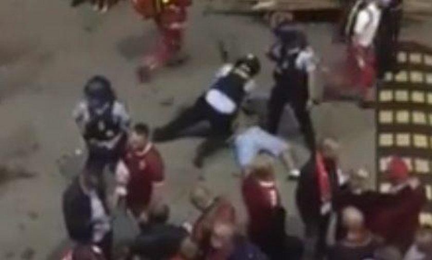 Duński policjant skatował Polaka