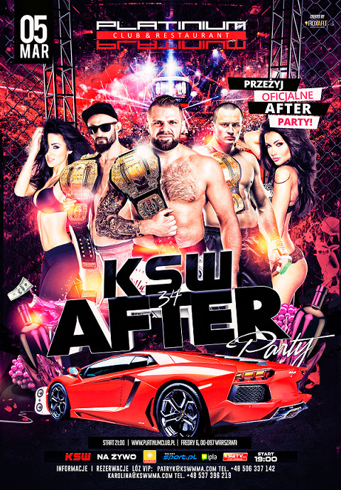 KSW 34 - after party