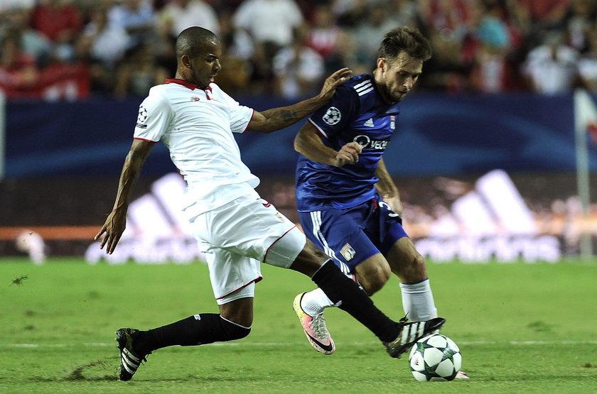 Maciej Rybus kontuzjowany. Opuści mecz Ligi Mistrzów UEFA Olympique Lyon - Juventus