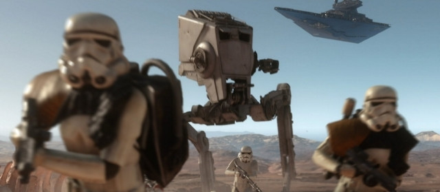 AT-ST w Star Wars: Battlefront