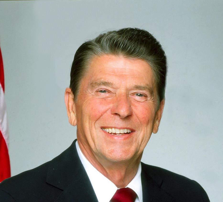 Reagan 1980-ban lett az USA elnöke, négy évig irányított / Fotó: Getty Images