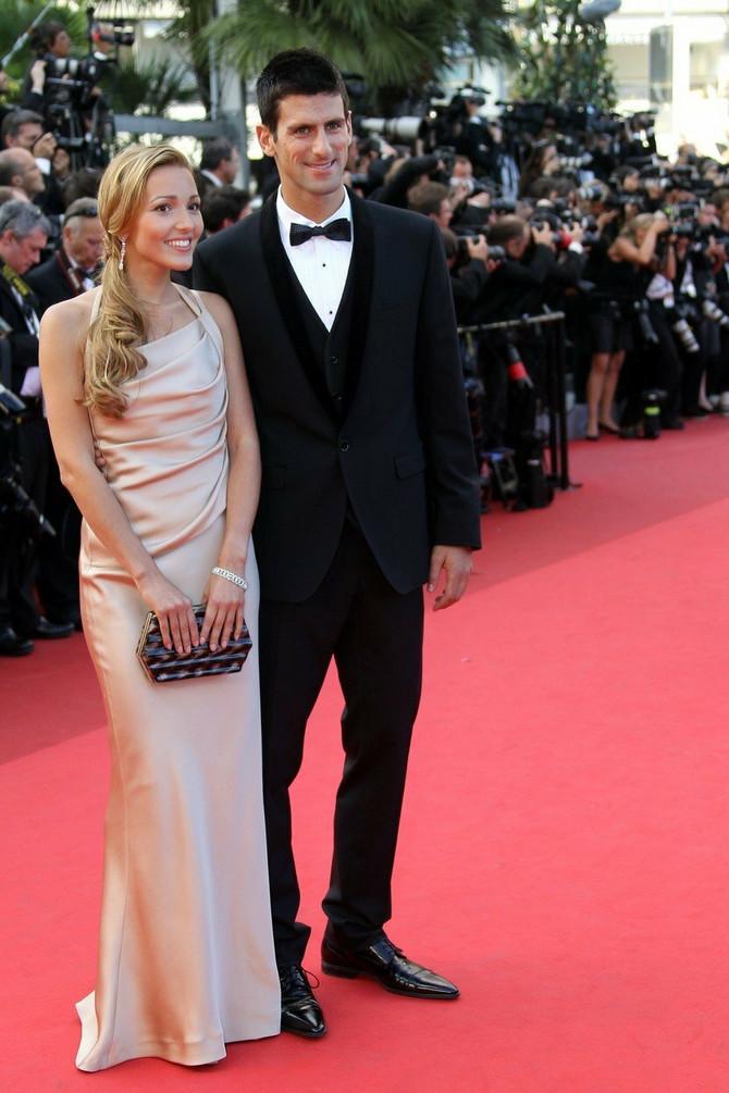 Odličan stil: Jelena i Novak Đoković 2011. u Kanu
