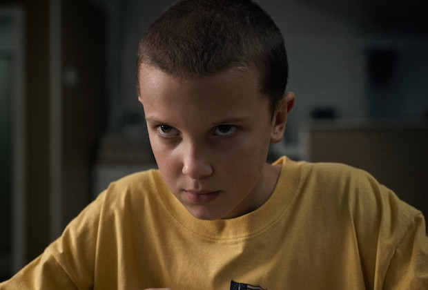 "Millie Bobby Brown w serialu ""Stranger Things"""