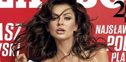 """Naga miss Euro pręży się w """"Playboyu"""""""