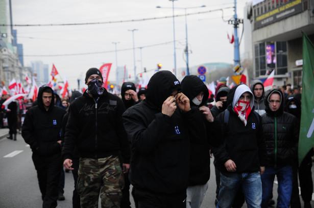 Marsz Niepodległości 2014. Fot. Maciek Suchorabski