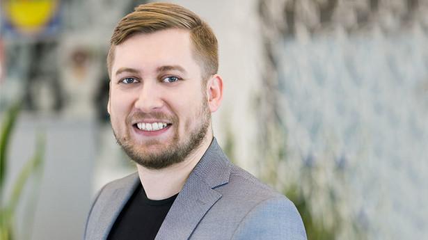 Jakub Ostrowski, kierownik Działu Rekrutacji i Budowania Marki Pracodawcy