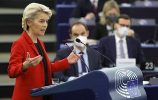 Von der Leyen w PE: Polski Trybunał Konstytucyjny nie jest niezależny