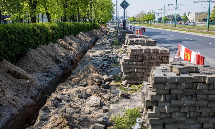 W Poznaniu budowane są kolejne ścieżki rowerowe.