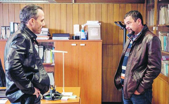 Miloš Timotijević i Nebojša Glogovac u filmu