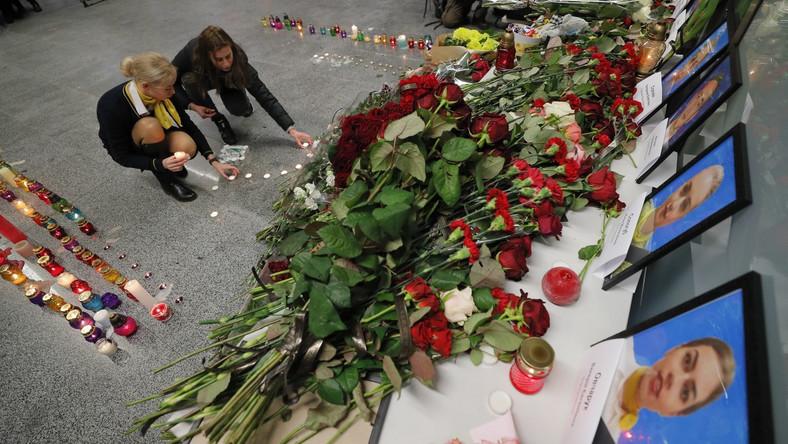 Bliscy ofiar katastrofy samolotu w Iranie