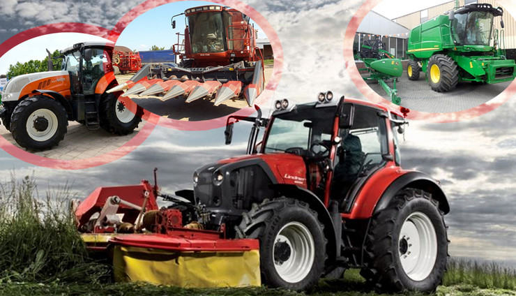 kombo poljoprivredne masine