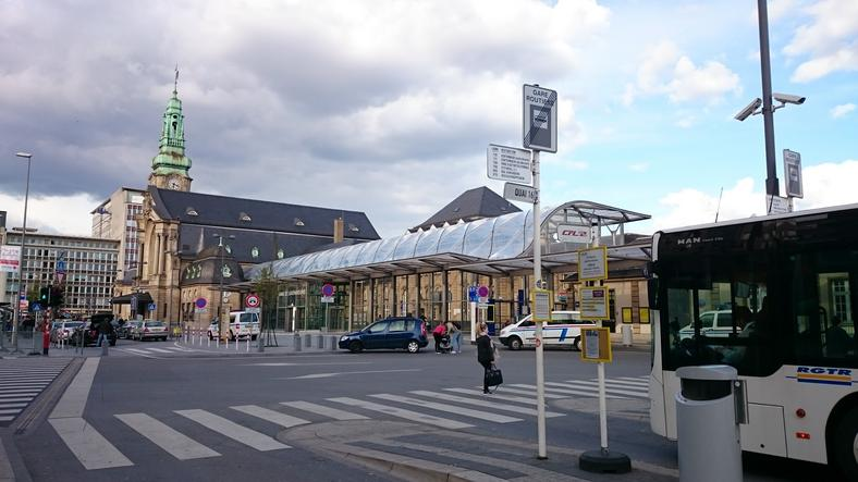 Luxembourg's train station