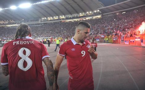 Aleksandar Prijović i Aleksandar Mitrović