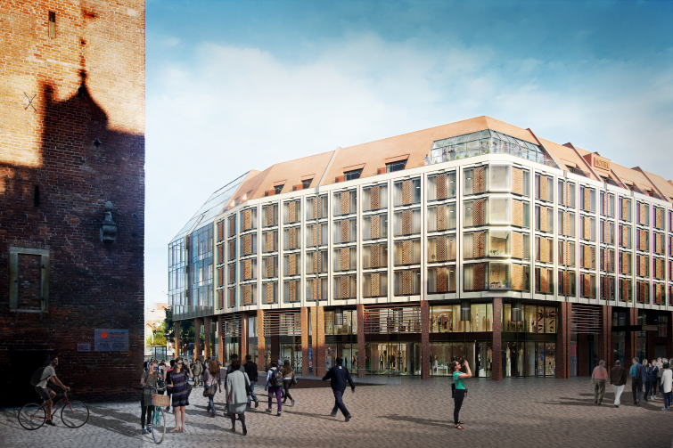 Tak będzie wyglądał następca budynku PLL LOT w Gdańsku
