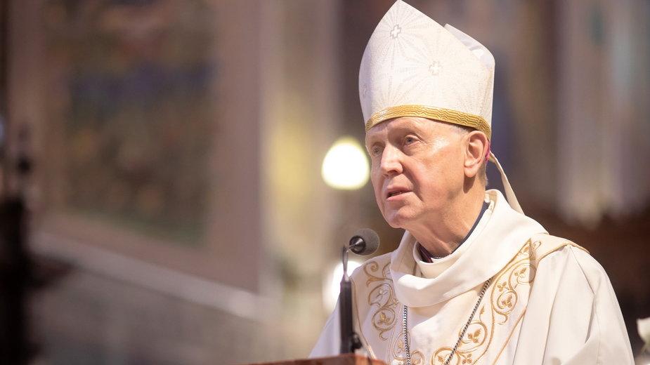 Biskup diecezji płockiej Piotr Libera