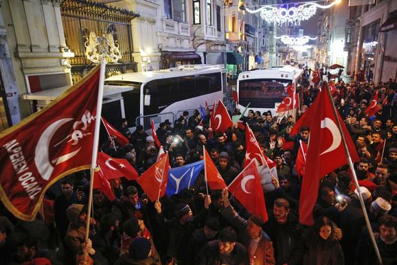 Turci protestuju zbog holandske vlade