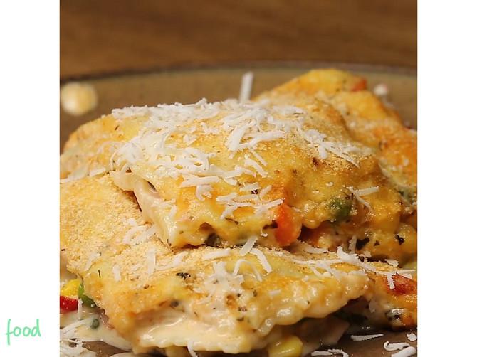 Kremasti ravioli će vas oduševiti! Puni su povrća i sira, sočni i slasni!