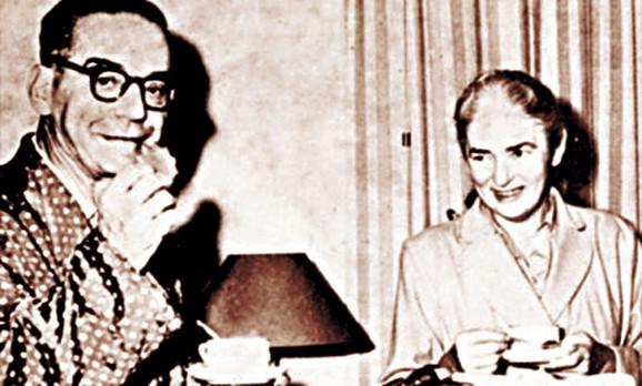 sa Milicom Babić-Andrić je bio u braku od 1958. do njene smrti 1968. godine