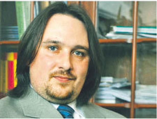 Maciej Cichański, z Izby Skarbowej w Bygdoszczy Fot. Archiwum